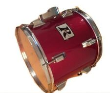 Rogers Big R Red Tom 13 Inches Vintage Rogers Tom Drum Percussion