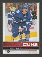 (72448) 2012-13 UPPER DECK YOUNG GUNS CARTER ASHTON #247 RC