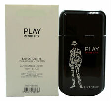 PLAY IN THE CITY BY GIVENCHY FOR MEN EAU DE TOILETTE SPRAY 100 ML / 3.4 OZ. (T)