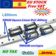 【ES】TRH20 800mm Square Linear Guide Rail for CNC Router Machine +TRH20B Carriage