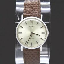 VINTAGE ROLEX PRECISION STAINLESS STEEL 1975 WIND UP MOVEMENT SWISS MADE WATCH