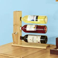 SoBuy Weinregal,Wandregal,Weinflaschenständer,Flaschenhalter,Weinhalter FRG74-N