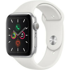Apple Watch Series 5 40mm Silver Alum, White Sport Band (GPS) MWV62LL/A