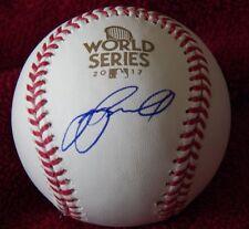 Jeff Bagwell Signed Rawlings World Series Major League Baseball Houston Astros