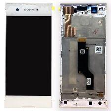 Sony écran LCD complet avec cadre pour Xperia XA1 et Double Blanc