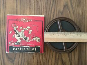 Vintage 8mm Silent Film Paul Terry Toons Hot Sands no. 721