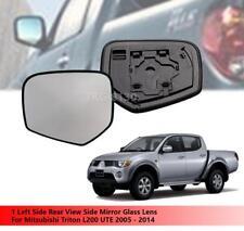 clip-on passeggero lato sinistro riscaldata anta vetro argento specchio con piastra di # w-shy//l-olia08/