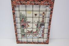 Miranda's Needle THE GREAT WILDERNESS AFGHAN Cross Stitch Pattern Forest Woods