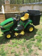 john deere lawn mower model 125 automatic 20 hp  42 inch cut with bagger