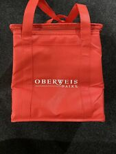 Durable Insulated Grocery Shopping Bag (Ice Cream, Frozen Foods) -RED- OBERWIES