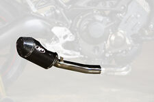 M4 Standard Mount Slip-On Exhaust For Yamaha FZ09 2014-2016 Carbon Fiber