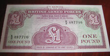 Banconote Europa/Inghilterra British Armed Forces Special Voucher 1 One Pound
