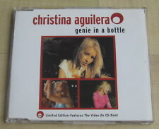 Christina Aguilera - Genie In A Bottle (3 Track CD Single 1999). Incl Video