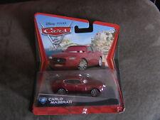 DISNEY CARS 2  CARLO MASERATI  LONG CARD