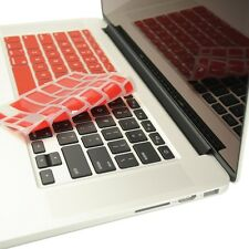 """RED Silicone Keyboard Cover for NEW Macbook Pro 13"""" A1425  with Retina display"""