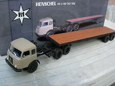 NOREV 1/43 HENSCHEL HS3 -180 TAS semi plateau