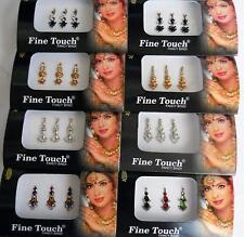 24 Combo Bindi Stickers Multicolored,Silver,Gold,Black, Bindi Tattoo Bindi Jewel