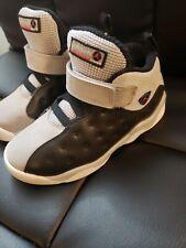 Air Jordan Jumpman Team II GG Black/Vivid Pink/Wolf Grey Size 10c preowned clean