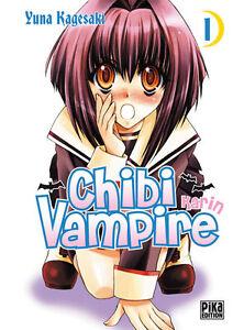 Collection de mangas Chibi Vampire - 3 premiers Tomes - Pika Editions Manga