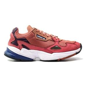 Adidas Falcon (Raw Pink Blue White) Women's Shoes 1005 Authentic D96700 Size 8