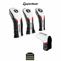 TAYLORMADE UNIVERSAL GOLF CLUB HEAD COVERS DRIVER/ FAIRWAY/ HYBRID/ PUTTER