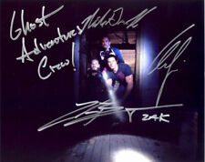 GHOST ADVENTURES CAST SIGNED POSTER PHOTO 8X10 RP AUTOGRAPHED ZAK BAGANS & ALL