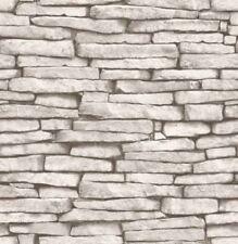 Decoración de paredes de color principal blanco piedra para el hogar