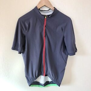 Q36.5 Jersey Short Sleeve L1 Pinstripe Titanium Grey Cycling Size L