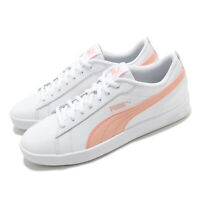 Puma Smash Wns v2 L White Apricot Blush Women Casual Shoes Sneakers 365208-26