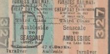 Furness Railway Ticket SEASCALE 327