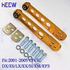 RACING REAR LOWER SUSPENSION CONTROL ARM BAR FOR CIVIC 01-05 DX ES EM SI EP3 EX