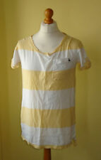 Jack Wills Cotton Short Sleeve Striped T-Shirts for Women