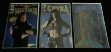 Undertaker Deathchrome Collectors Issue Chyna signed limited issue COA WWF Comic