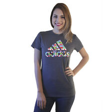 Adidas Country Flags Logo Women's Red T-shirt NEW Size M