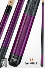 Valhalla by Viking 2 Piece Pool Cue / Case- Purple w. wrap - Lifetime Warranty