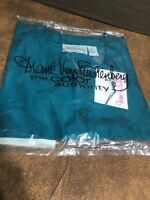 "DIANE VON FURSTENBERG ""THE COLOR AUTHORITY"" SILK TUNIC Teal SM Shirt"