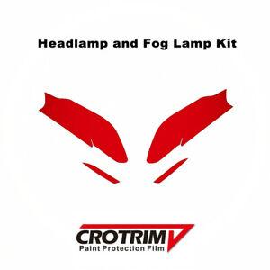 Pro Protection Film Headlight & Fog Light Kit For BMW 5 Series G30 2017-2020