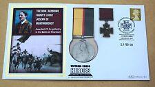 VICTORIA CROSS HEROES RAYMOND DE MONTMORENCY 2009 BENHAM REPLICA MEDAL COVER
