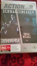 ARNOLD SCHWARZENEGGER - TERMINATOR 2 JUDGEMENT DAY + TOTAL RECALL - DVD R4