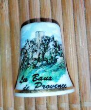 Dé à coudre de collection  LES BAUX DE PROVENCE C23