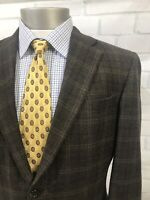 Hart Schaffner Marx Men's 2 Btn Multicolor Plaid Check Sport Coat Blazer Sz 40 S