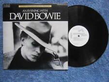 David Bowie Promo Vinyl Records