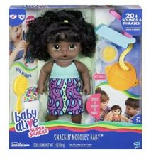 Baby Alive Super Snacks Snackin Noodles Baby Doll (African American)