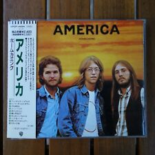 America ‎– Homecoming  - JAPAN CD with OBI - Warner Bros. Records ‎– WPCP-4494