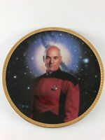 Captain Picard Star Trek The Next Generation Collector Plate #3902B by Hamilton