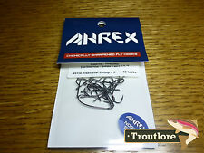 18 x AHREX NS156 #8 NORDIC SALT TRADITIONAL SHRIMP HOOKS NEW FLY TYING MATERIALS