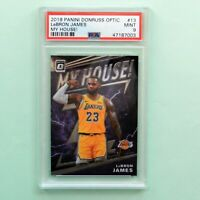 2019 Panini Donruss Optic # 13 Lebron James My House PSA 9 Mint