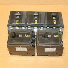Lot of 5 Qob330 Square D Breakers Read Description Sold As Is Tested with 120V