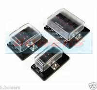 way heavy duty fuse box holder v volt blade kit 4 6 10 way 1 positive bus in led warning fuse box holder 12v