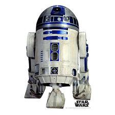 R2-D2 Star Wars Artoo Deetoo Droid Lifesize CARDBOARD CUTOUT Standup Standee F/S